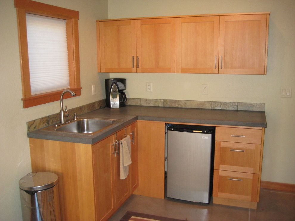 Minimalist Garage Converted Into A Kitchen Ideas: Mother In Law Suite Design, Pictures, Remodel, Decor And