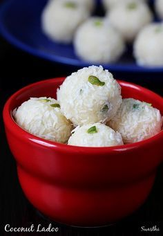 Coconut Ladoo With Condensed Milk Coconut Balls With Milkmaid Recipe Coconut Recipes Indian Dessert Recipes Indian Desserts