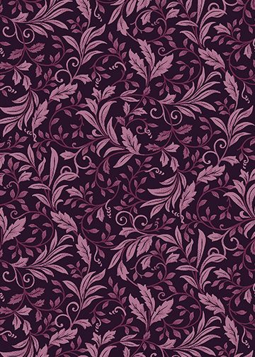 A Mum for a Mum Benartex garden vine dark plum | 6124-66 Quilt ... : plum vine quilt - Adamdwight.com