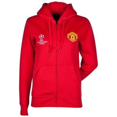 competitive price 1333a 0c32f Manchester United UEFA Champions League Full Zip Hoody ...