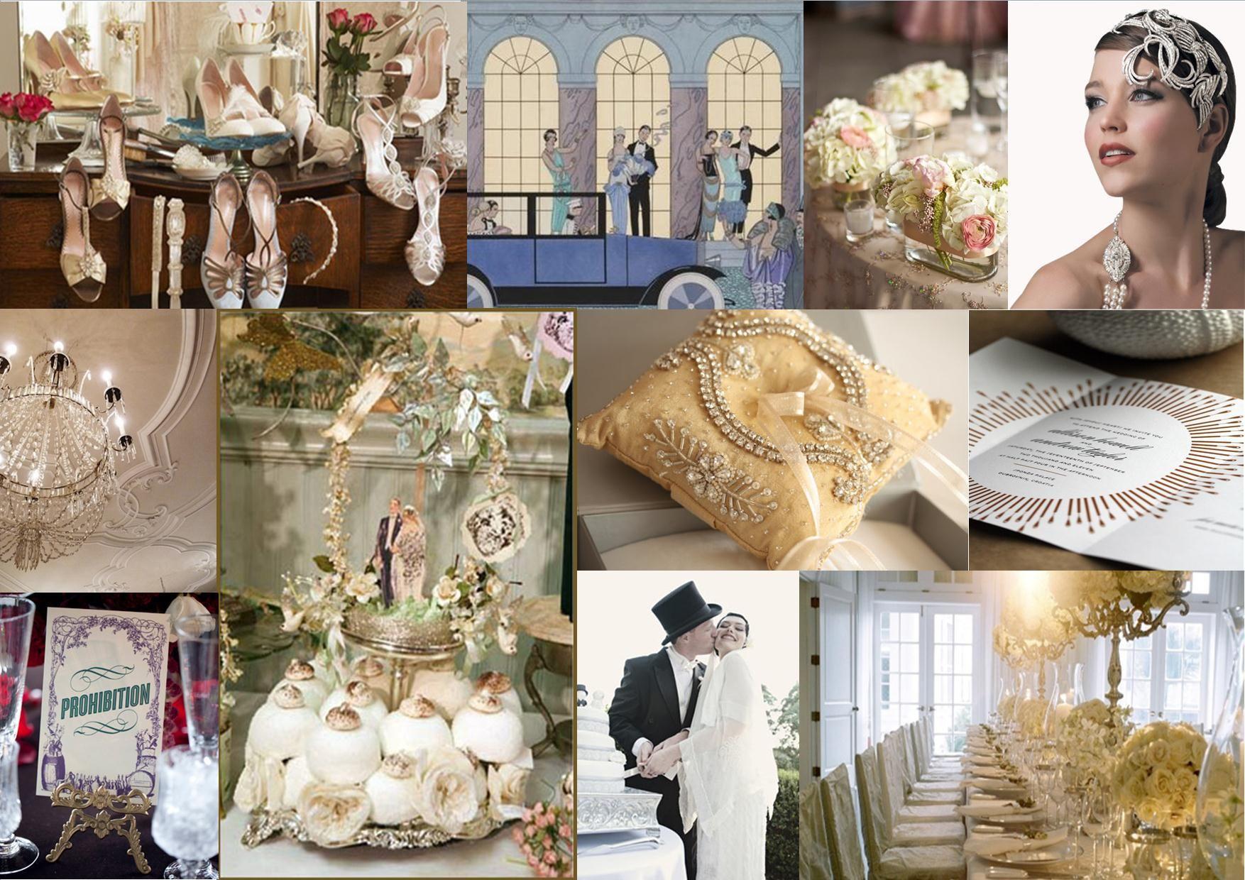 The Great Gatsby Wedding Design