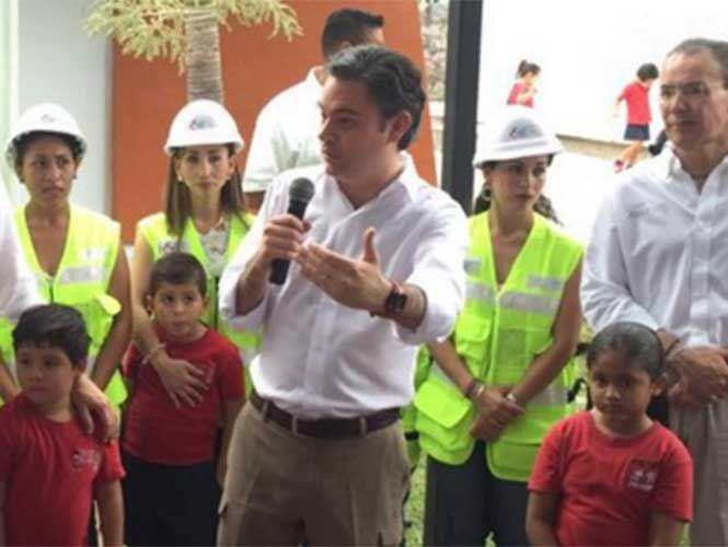 #Mexico: Nuño entrega primer centro educativo rehabilitado por Escuelas al Cien