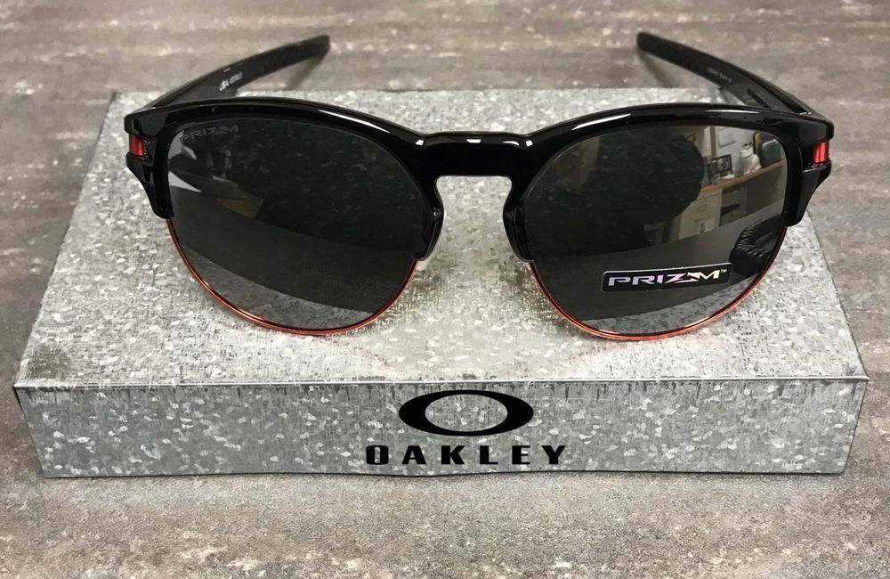 cbbecd8a70 New Oakley Latch Key Sunglasses OO9394-0555 Polished Black - Prizm Black  Iridium  fashion  clothing  shoes  accessories  mensaccessories ...