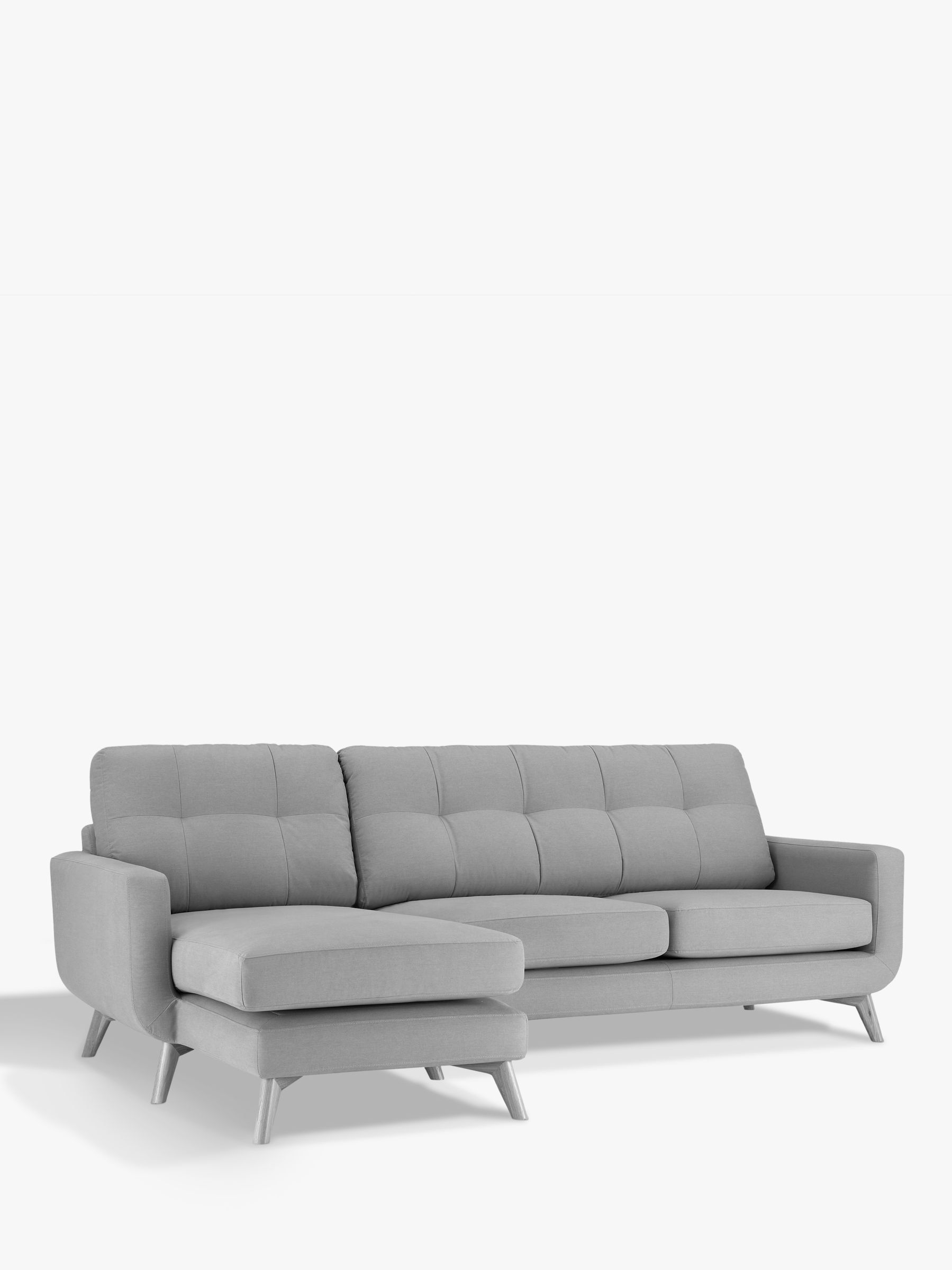 John Lewis & Partners Barbican LHF Chaise End Sofa ...