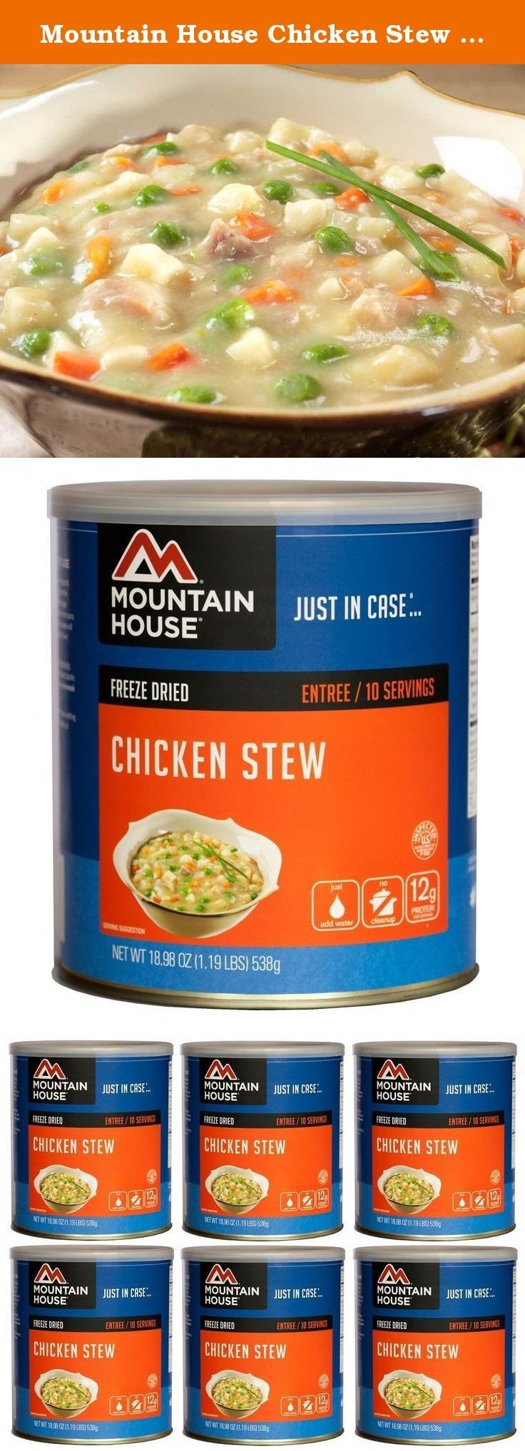 Mountain House Chicken Stew 10 Can Freeze Dried Food 6
