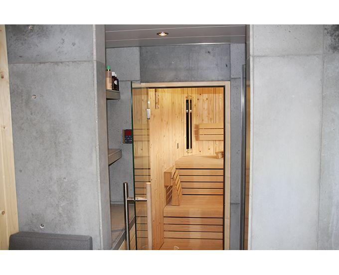 beton in sauna interieur betonnen badkamer pinterest keuken aanrecht aanrecht en werkbladen. Black Bedroom Furniture Sets. Home Design Ideas