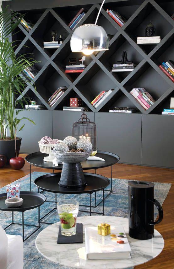 Evde kütüphane modelleri #modernfarmhousestyle