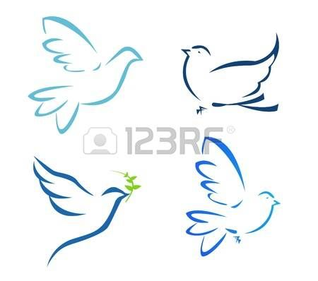 18555282 Vector Illustration Of Flying Dove Jpg 450 398 Dove Drawing Dove Tattoos Small Dove Tattoos