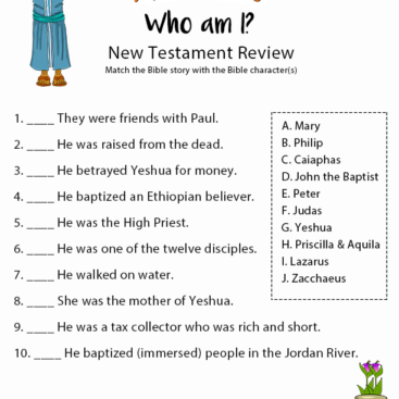 bible quiz for kids pdf