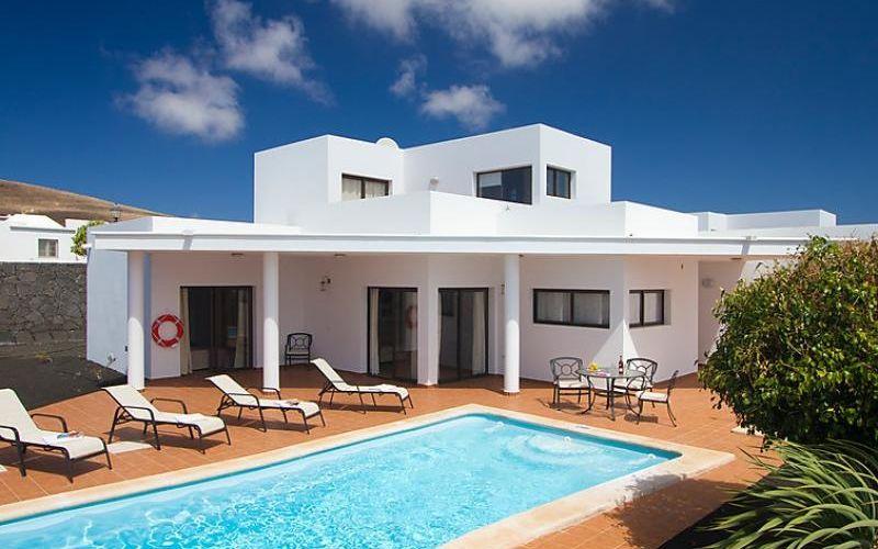 Maison Moderne Avec Piscine Aux Iles Canaries Ça Fait Rêver Non ? Et