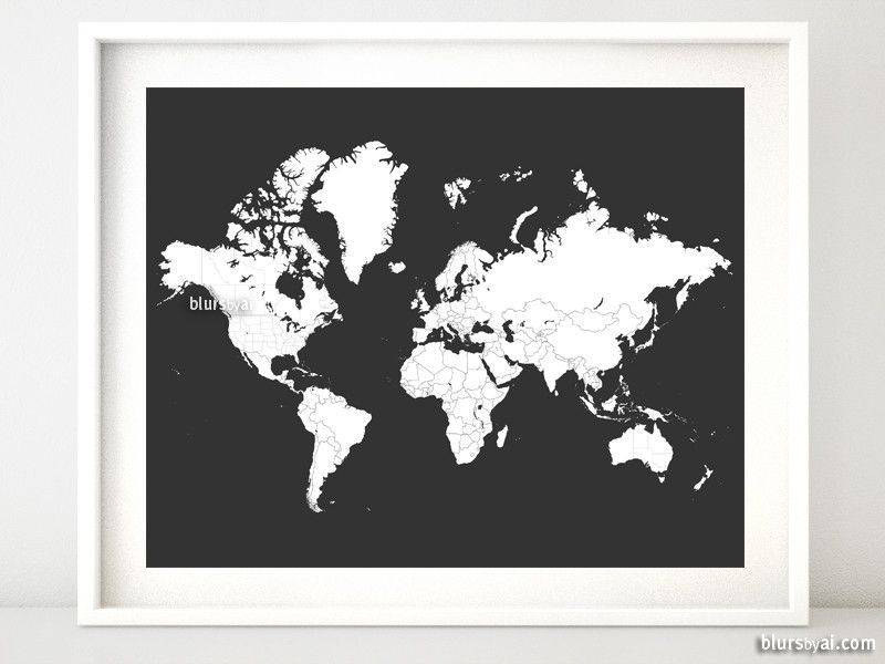 World map for coloring printable world map with countries and world map for coloring printable world map with countries and states outlined in dark grey gumiabroncs Image collections