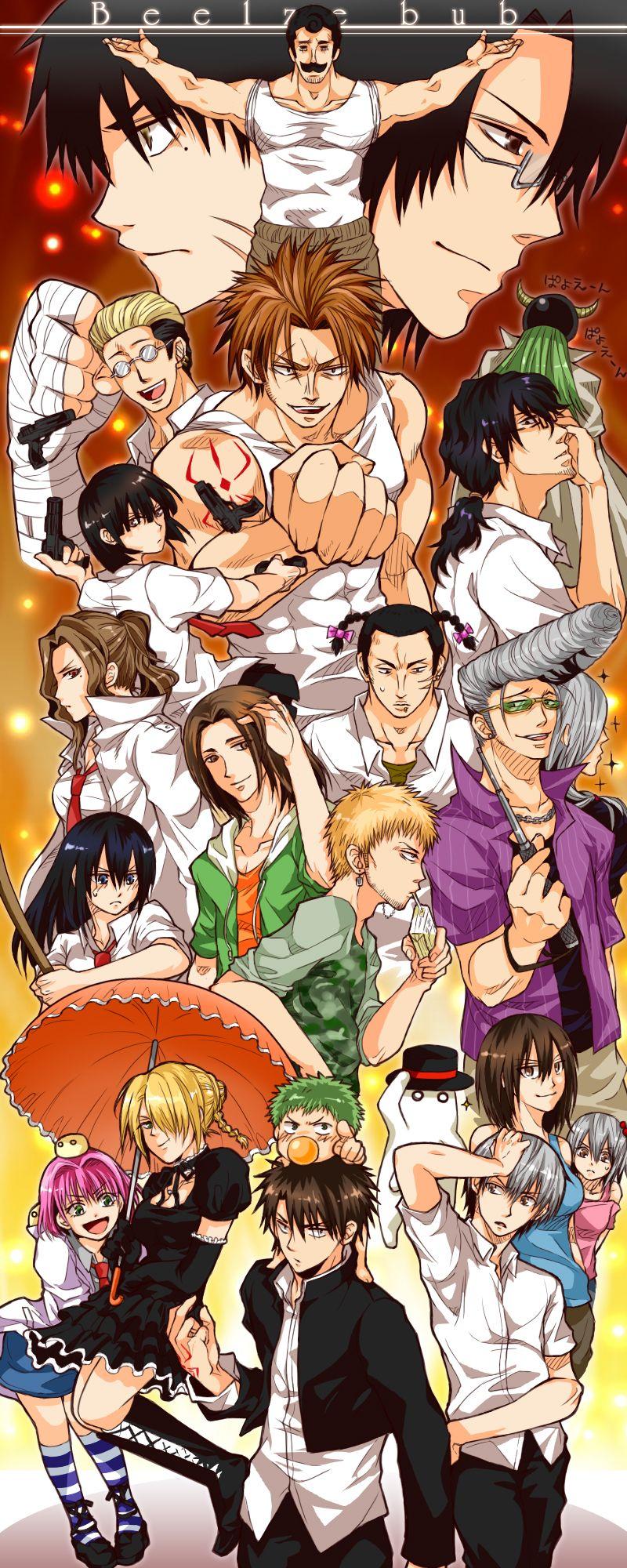 Épinglé par Worrywart sur Beel is love ️ Anime japonais