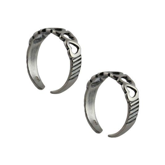 Amazon.com: Adjustable Toe Rings Set for Women Sterling Silver Jewelry Indian: ShalinCraft: Jewelry