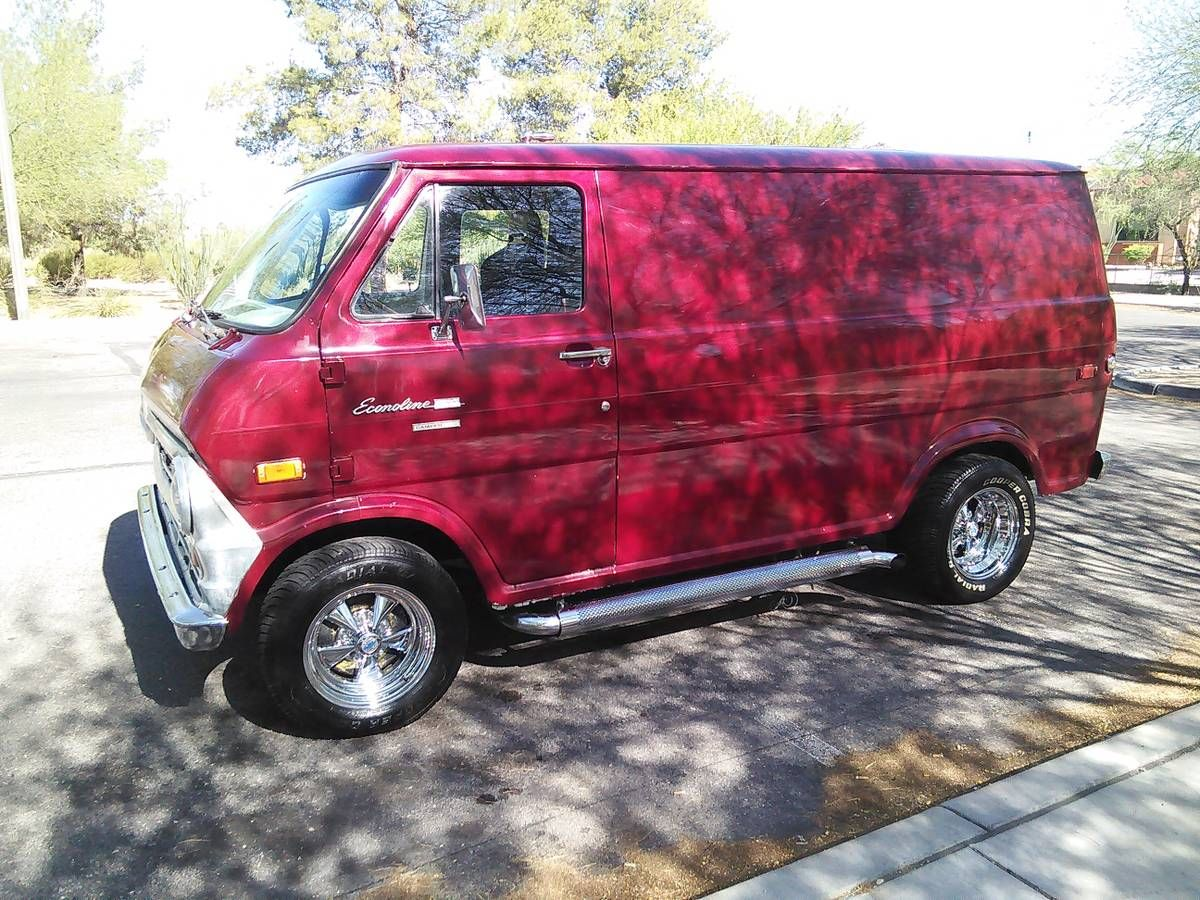 1971 Custom Ford Van cars & trucks by owner vehicle