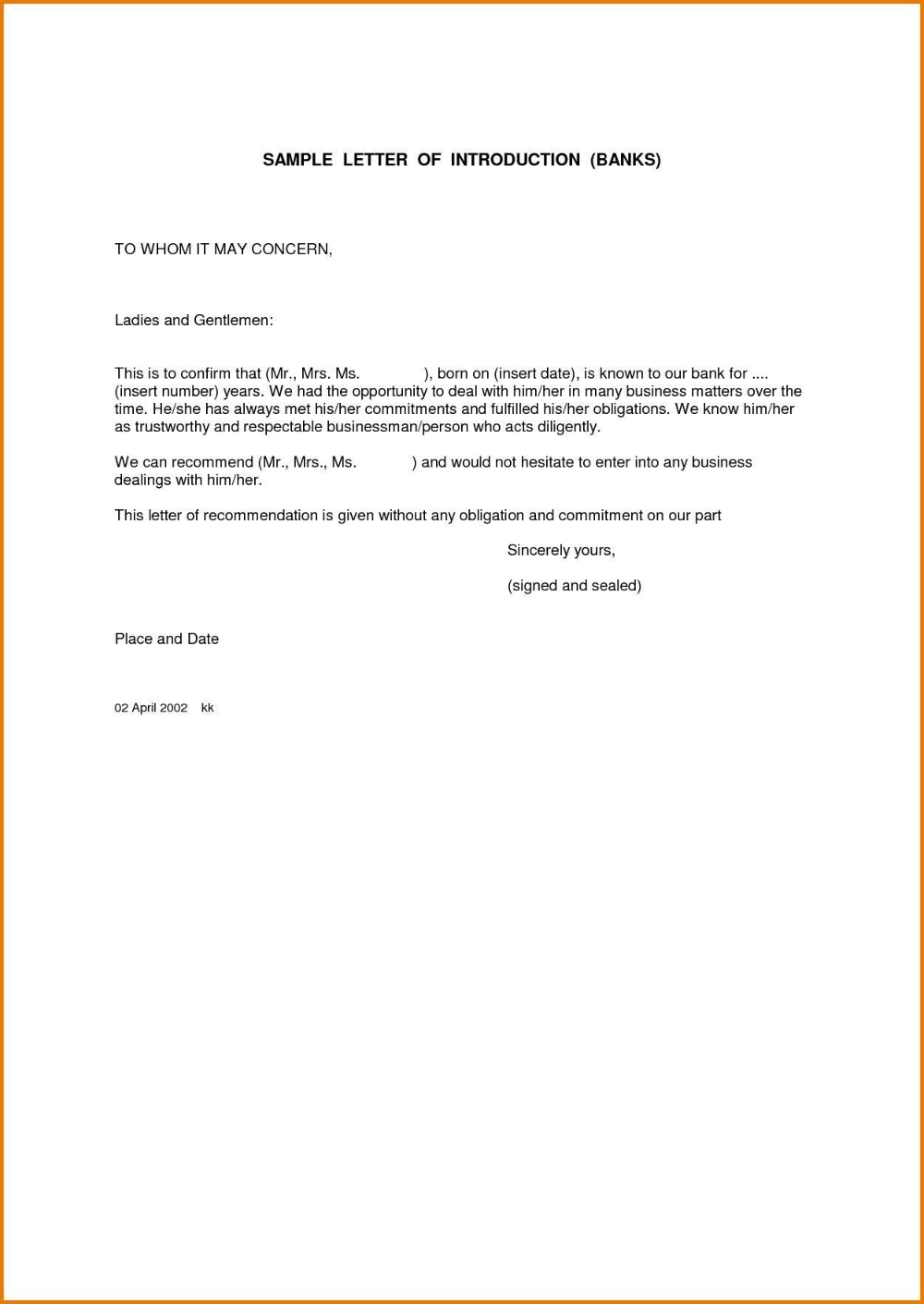 how to write a letter to whom it may concern sample