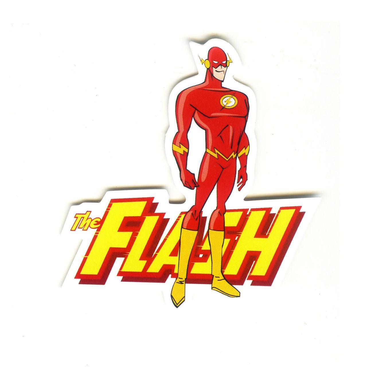 1495 The Flash Barry Allen Height 8 Cm Decal Sticker Decalstar Com [ 1280 x 1280 Pixel ]