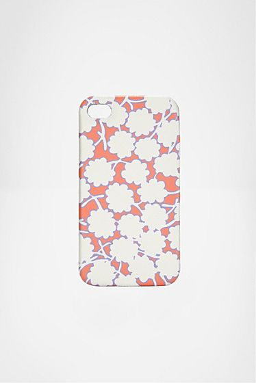 DVF: the queen of prints!  Saffiano iPhone 4 Case
