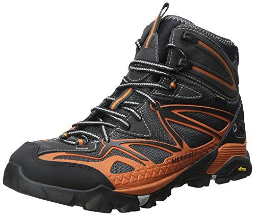 Merrell Men's Capra Mid Sport Gtx Hiking Boot, Orange, 10 M US *** Check out the image by visiting the link.