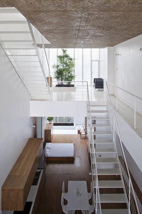 Vietnamese architects sanuki nishizawa adapted the for Interior design in vietnam