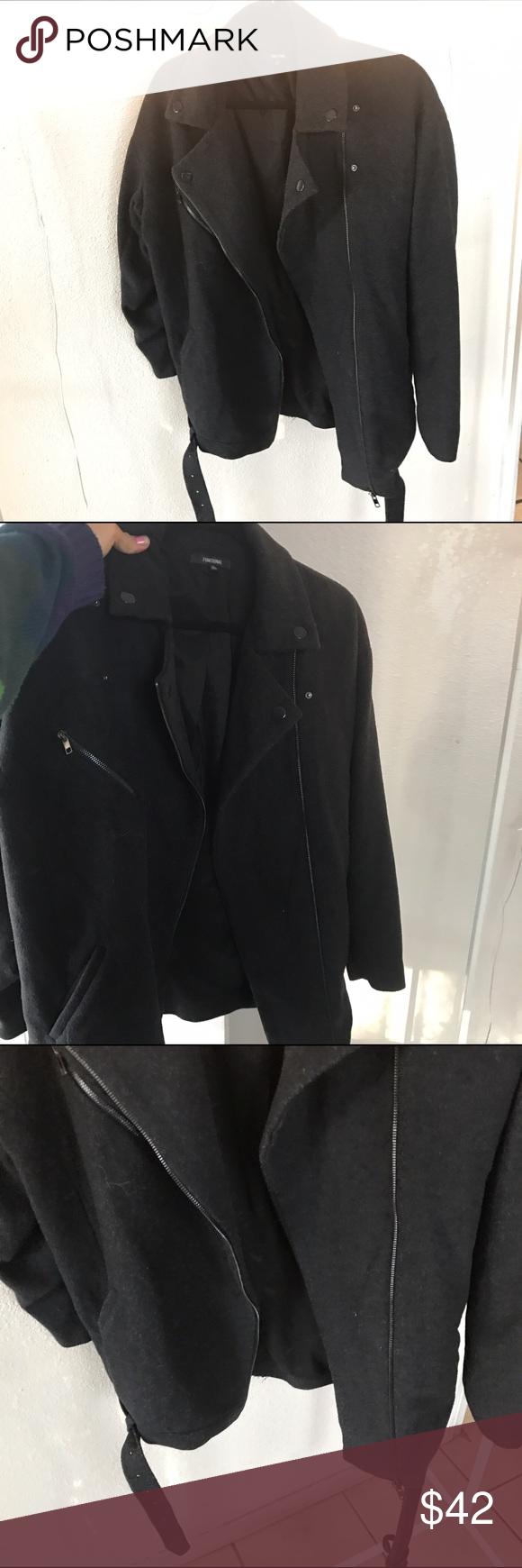 FUNKTIONAL SZ L MOTO STYLE JACKET BLACK Awesome JACKET Funktional Jackets & Coats