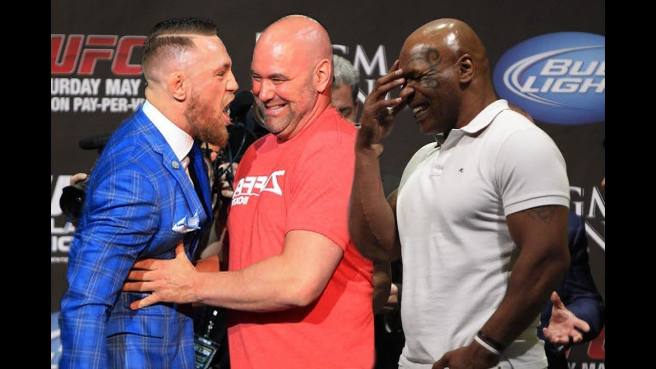 Conor Mcgregor Called Mike Tyson The Old B Tch The Conflict Sports Highlights Mike Tyson Conor Mcgregor