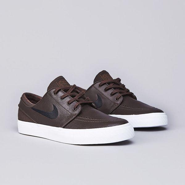 cd0b8b1e17c Nike SB Stefan Janoski Leather Baroque Brown   Black