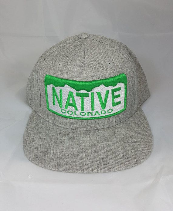 65fd9e689 Colorado Navitve Hat. Colorado Flag hat. Colorado Theme Snapback ...