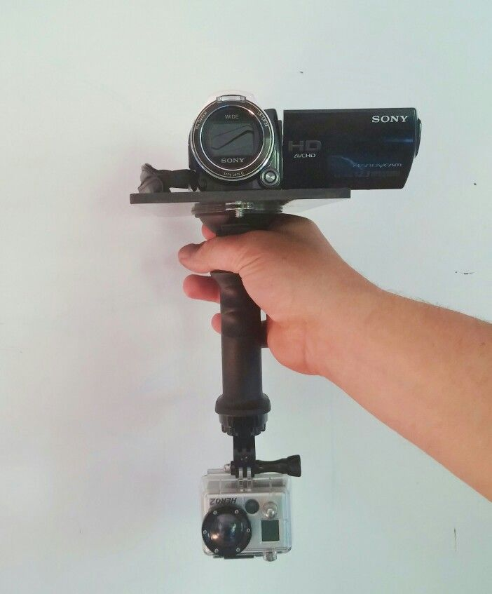 The Gerp is an evolving platform, here is my latest use for filming High School Football. Capture wide angle #GoPro footage while getting close up action with your standard mini #camcorder #Gerp #Sony www.getagerp.com
