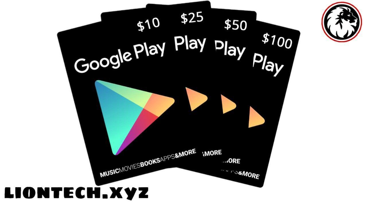 موقع يعطيك بطاقات جوجل بلاي مجانا 2020 أرقام بطاقات جوجل بلاي شغالة Google Play Gift Card Free Gift Cards Gift Card
