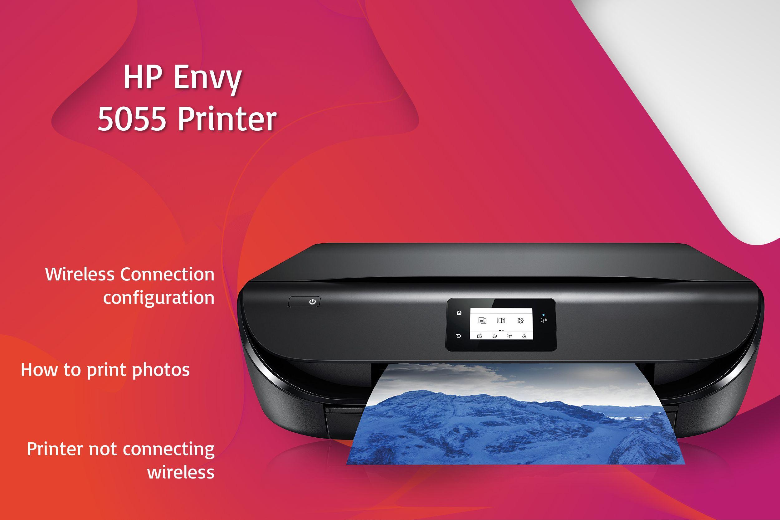 New 123.hp.com/envy5055 Printer Setup, Free Driver Download HP Envy 5055 Setup