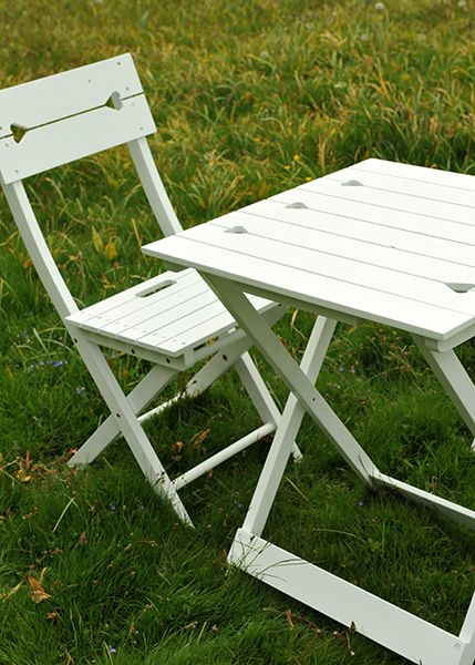 Buy White Heart Bistro Set Delivery By Waitrose Garden In