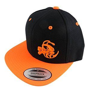 Amazon.com   Discraft Adjustable Snapback Flat Bill Buzzz Disc Golf Hat -  Black Orange   Sports   Outdoors cd1666635415