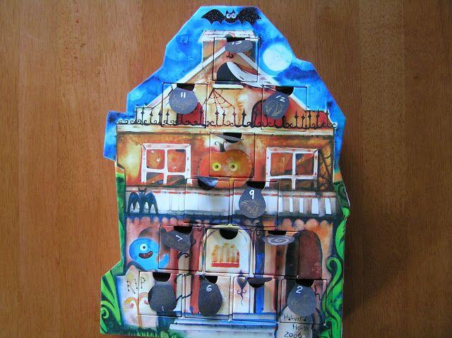 A Life Unprocessed: Halloween Activity Advent Calendar