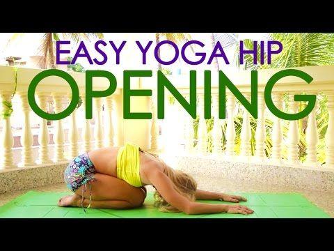 Easy Yoga Hip Opening Practice with Kino in Mysore, India