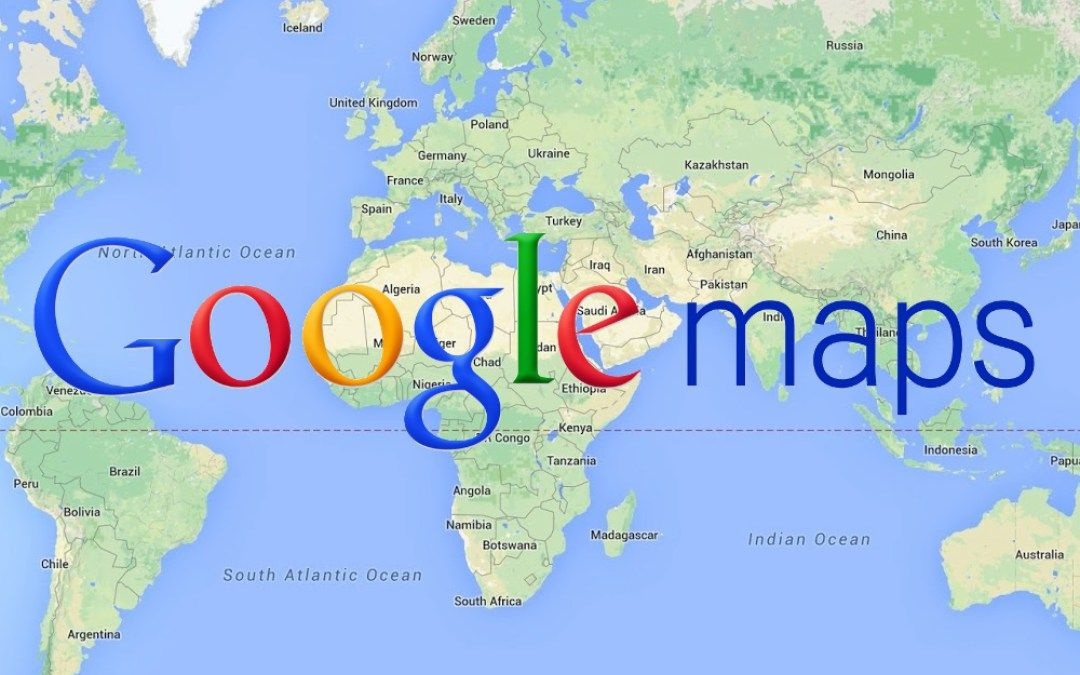 Video Blog Using Google Maps to Show College Applications