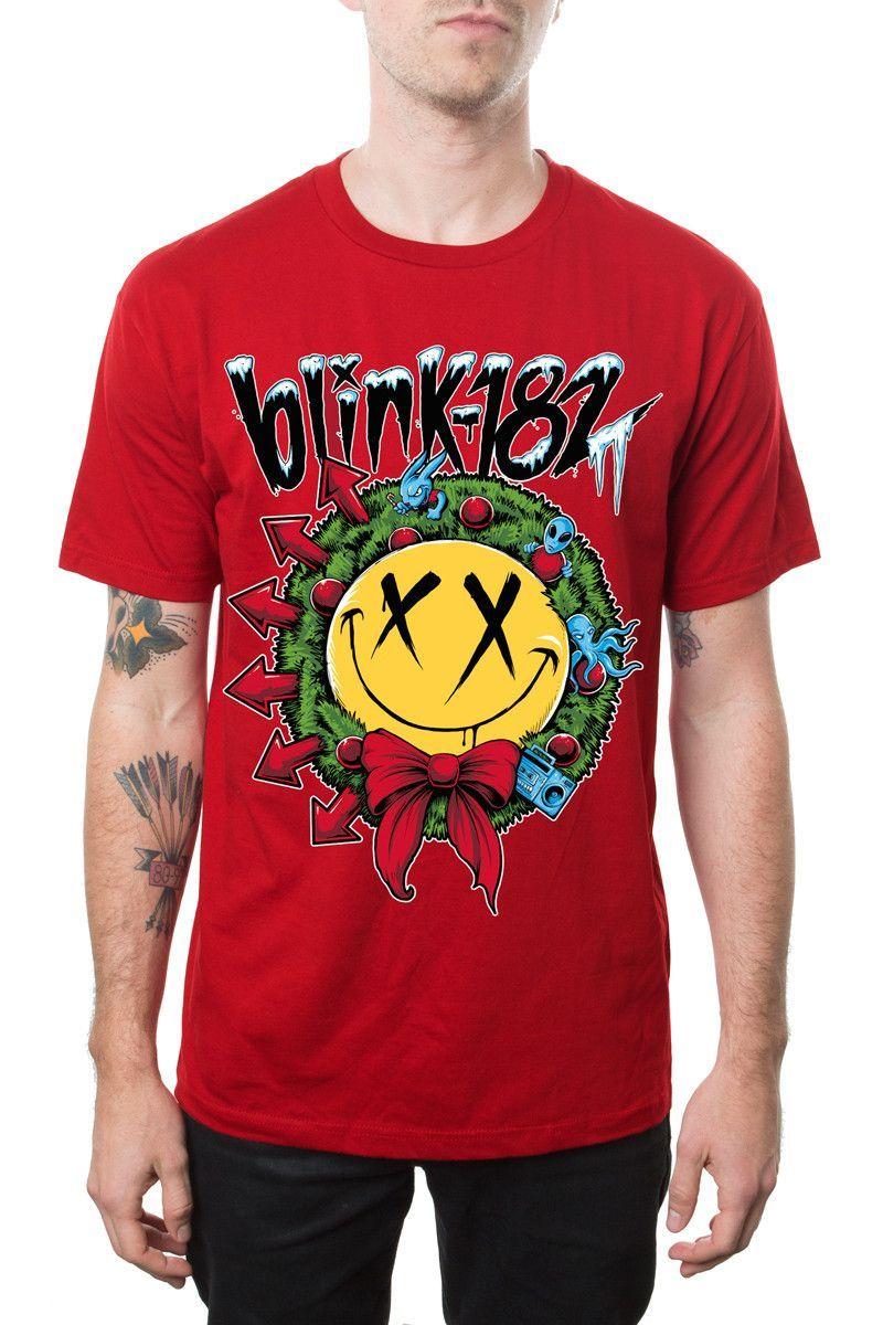 Smiley Wreath From Blink 182 Merch Blink 182 Merch Blink 182