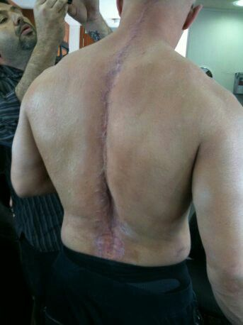 Tom Hardy's back TDKR ...