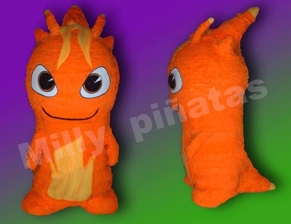 Piñata Burpy, babosas Bajoterra, fiesta, piñata, Milly