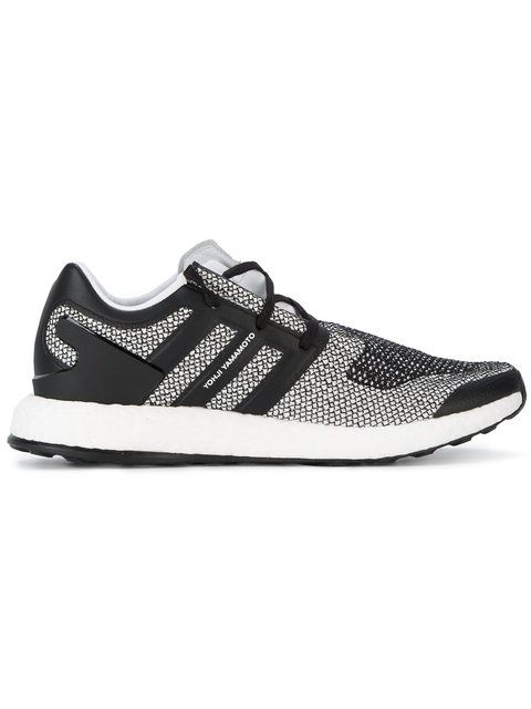 a517fc209d37f Y-3 Pureboost monochrome sneakers.  y-3  shoes