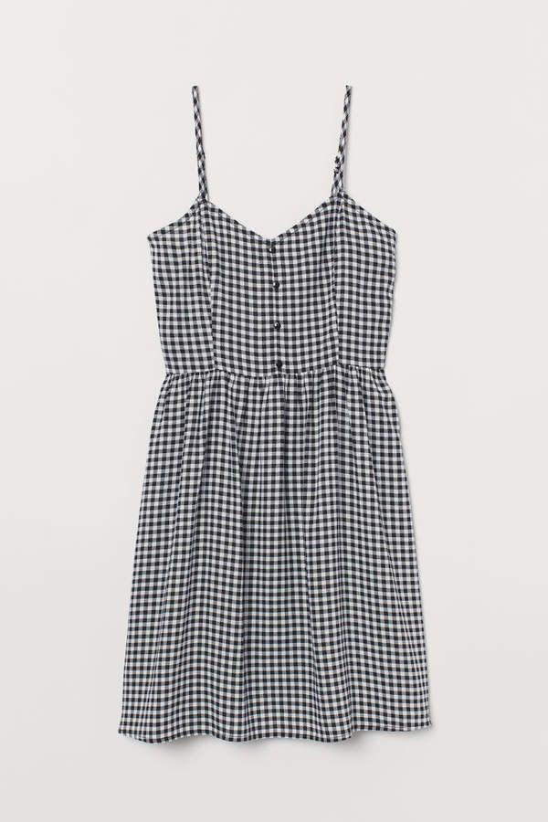 H&M Short Dress - Black #weißekleiderkurz