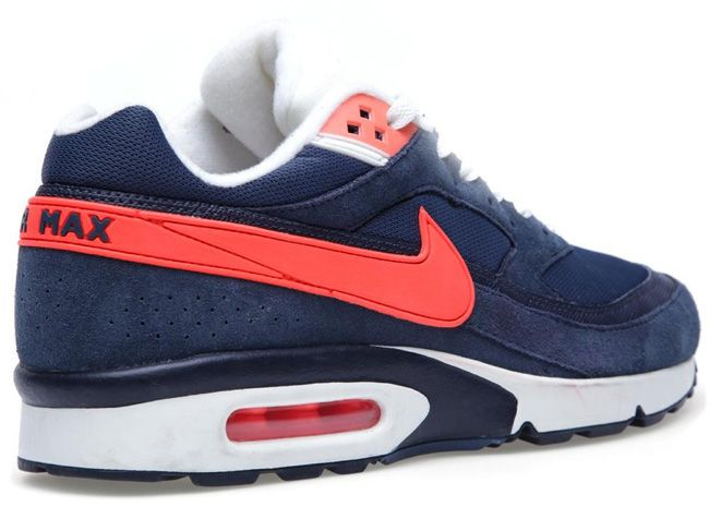 online store 38381 3b9f9 Nike Air Max Classic BW Essential  Squadron Blue  Red