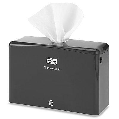 Black Tabletop Towel Dispenser By Tork 15 00 Xpress Towels When