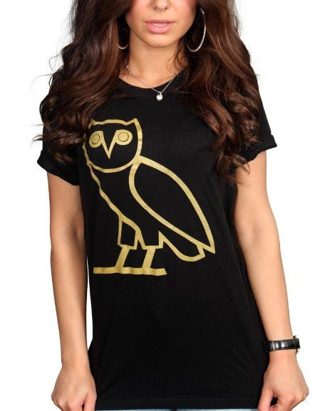 a938dd14f Amazon.com: Tru Designz Women's Drake Octobers Very Own OVO Owl T-Shirt  Drake Dream Crew YMCMB: Clothing