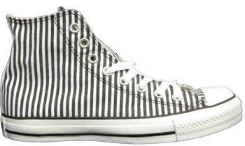black and white striped converse