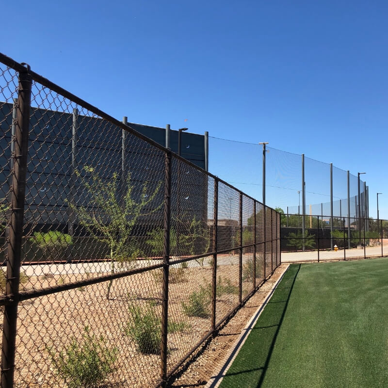 Natina Colored The Stadium Fence Into A Rustic Brown Hks Needed A Zero Maintenance Alternative To Paint Or Vinyl C In 2020 Milwaukee Milwaukee Brewers Spring Training