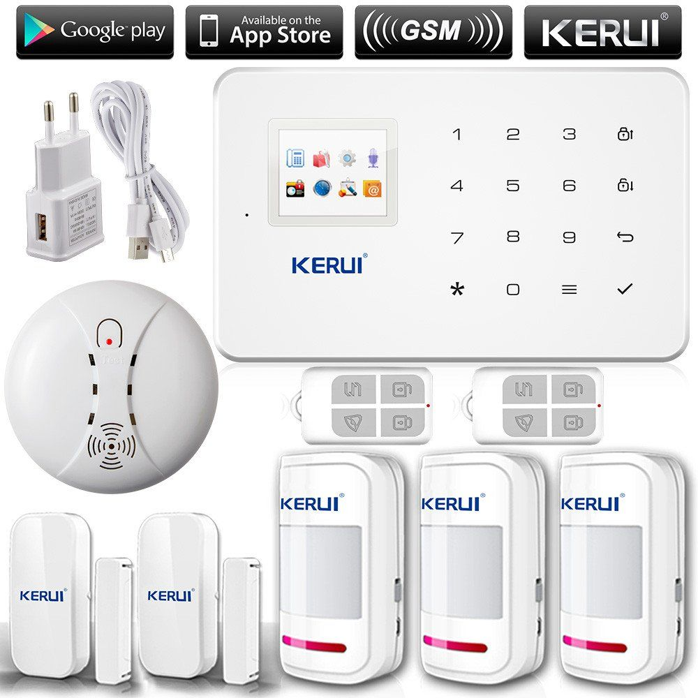 KERUI G18 English/Russian Voice GSM Autodial Home Security