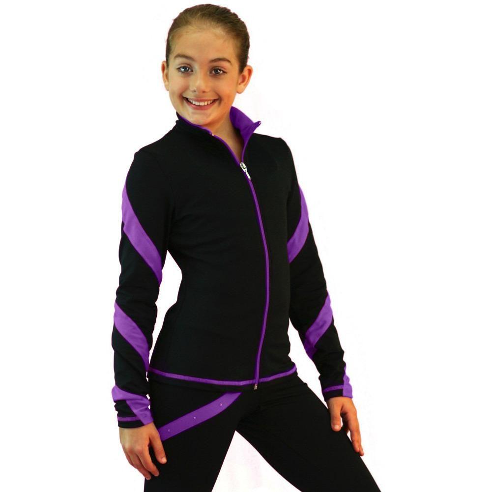 ChloeNoel Figure Skating Spiral Outfit