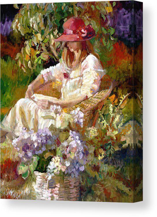 Woman Reading Impressionism OIL 8 x 10 ART PRINT signed Sally Rosenbaum