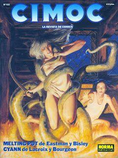 Les Rétro-Galeries de Mr Gutsy: Spanish Connection : CIMOC #2 (numéros 101 à 150)
