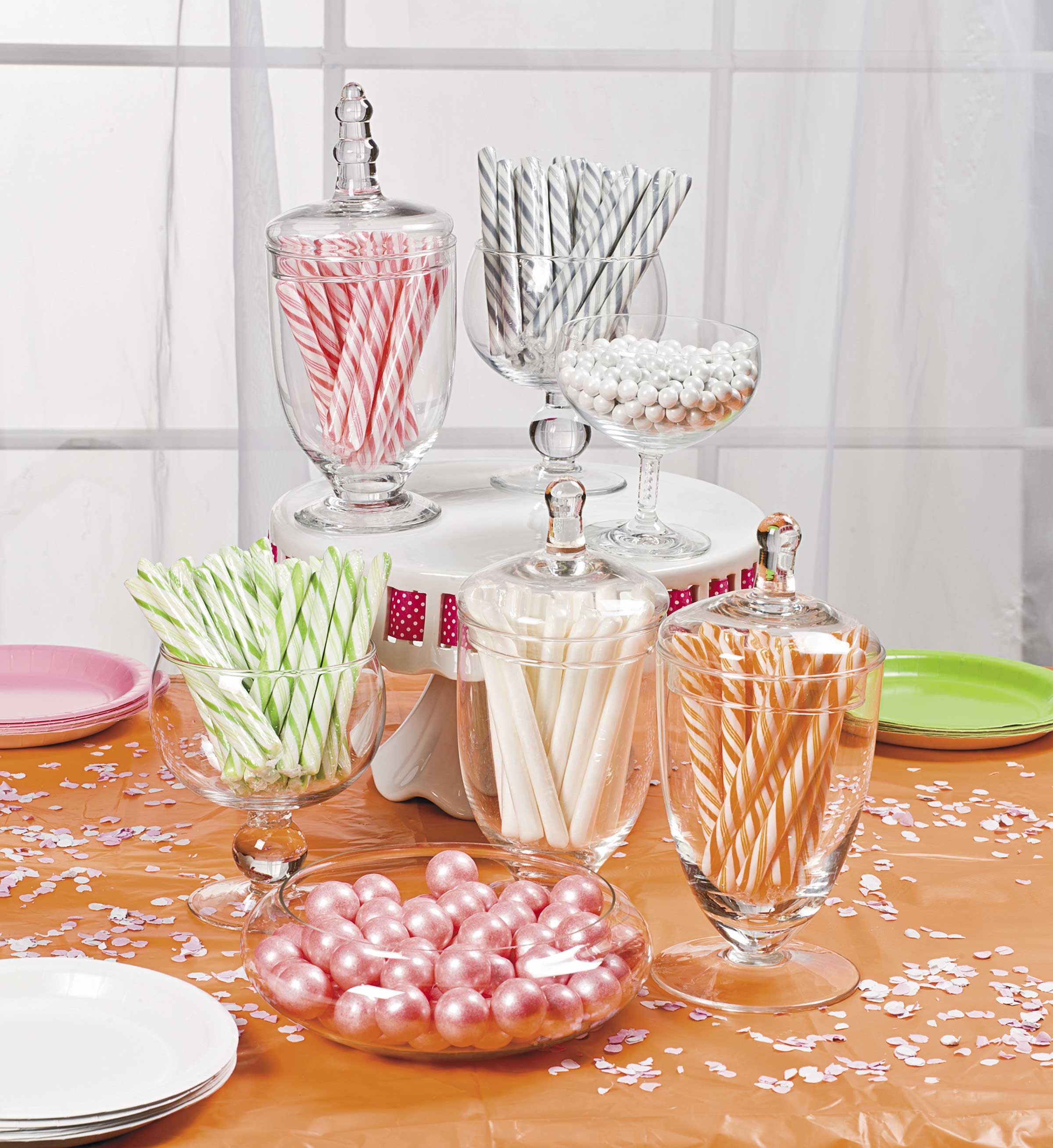 Treat your guests to more sweets with your candy buffet!